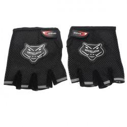 Bicycle Bike MTB Cycling Antiskid Gel Mesh Half Finger Gloves