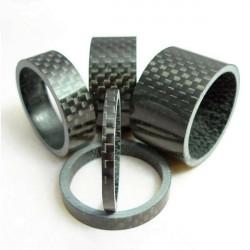 Cykel Carbon Fiber 3mm X 5mm X 10mm X 15mm X 20mm Headset Spacer
