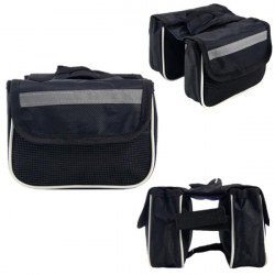 Bicycle Cycling Sports Frame Front Tube Double Side Bag