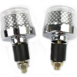 Fahrrad Handgriff Lichtaluminiumlegierung Gebirgs LED Warnleuchte