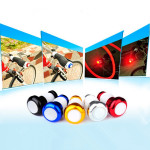 Cykelstyr Lys Cykling LED Bar End Stik Sikkerhedssignaler Cykel