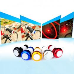Cykelstyr Lys Cykling LED Bar End Stik Sikkerhedssignaler