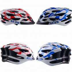Bicycle Helmet Cycling Bike Carbon Helmet BMX MTB Road Blue Red