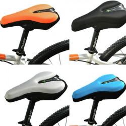 Fahrradsattelüberzug Fahrradsitzkissen 3D Gel Pad Reflektierende Heck