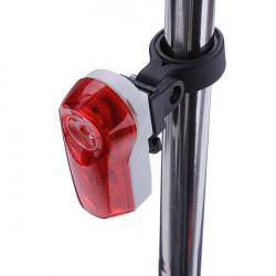 Bike Bicycle 2-LED 2-Mode Tail Rear Lights Shockproof Safety Light