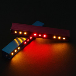 Bike Bicycle 9-LED 4-Mode Tail Light Steering Lamp