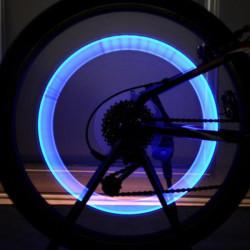 Fahrrad Fahrrad Zubehör LED Scheinwerfer Rad Ventil Lampe Ventileinsatz Licht
