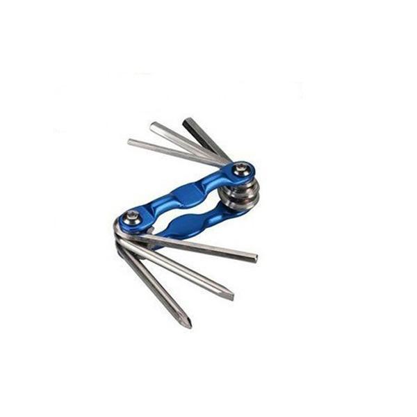 Bike Bicycle Aluminum Alloy Mini Repair Tools Set Multicolor Cycling