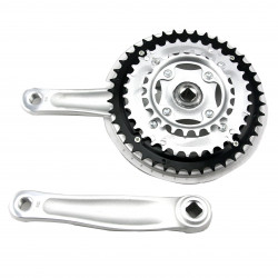 Bike Bicycle Chainwheel Cranksets Speed Crankset Cranks 42T