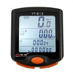 Bike Cykel Digital Computer Kilometertæller Speedometer Vandtæt BOGEER