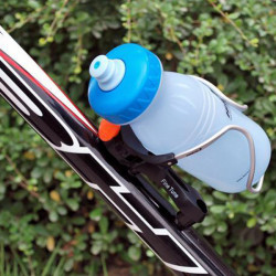 Bike Bicycle PC Plastic Aluminum Rotatable Water Bottle Cage Holder