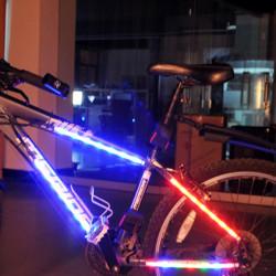 Bike Cykel Hjul 14 LED Bright Belysning Spoke Lys