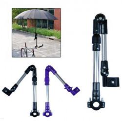 Bike Bicycle Wheelchair Stroller Connector Umbrella Holder Mount Stand