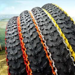CHAOYANG Zweiräder Fahrräder Bunte Cover Tube Reifen 26 * 1.95 MTB weiche Kante