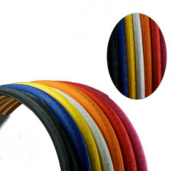 CHAOYANG Fixed Gear Bike Cover Tyre 700*23C Colorful Bicycle Tube