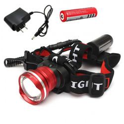 CREE T6 LED 1600LM nachladbare Zoomable Fahrrad Scheinwerfer Scheinwerfer
