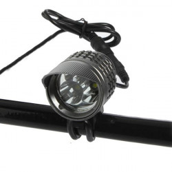 CREE XM-L T6 2000 Lumen LED 4-Tilstand Cykel Forlygte