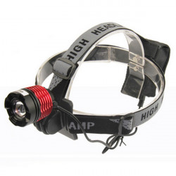 CREE XM-L T6 LED 800Lum Headlight 3-Mode Adjustable Bicycle Headlamp