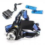 CREE XML T6 1200LM Zoomable einstellbarer LED Scheinwerfer Scheinwerfer Fahrrad