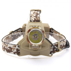 CREE XML T6 3 Mode 2000LM Camouflage Headlight Headlamp Torch