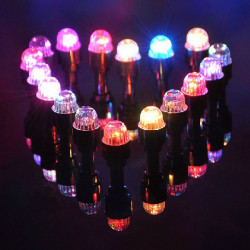 Colorful Bike Bicycle Tire Valve Led Lights Spoke Wheel Light