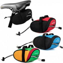 Cykling Bike Sadeltaske Seat Rack Pack Tail Pouch Frame Cykeltaske