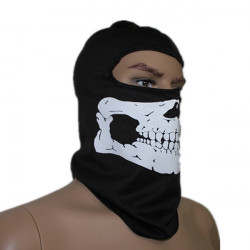 Cykling Mask Skull Bone Balaclava Face Head Wrap Neck Hood Protector