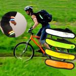 Cycling Safety Flexible Reflective LED Visible Flashing Armband Cycling