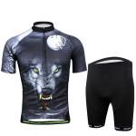 Radfahren Anzug Fahrrad Bike Wear Men Shirt und Shorts Wild Wolf Fahrrad