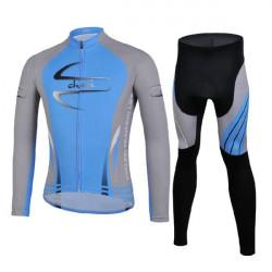 Cycling Suit Jersey Pants  Bike Bicycle Long Sleeve Shirt Sportswear