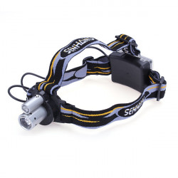 Double Tube Double Bulbs LED Headlamp Outdoor Bicycle Headlight