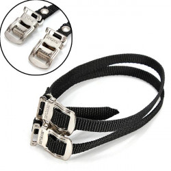 Fixed Gear Bike Cykel Pedal Toe Straps Fod Straps Bindende Band