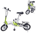 Folding Mini Bike 12inch Wheel Ultra-light Speed Bicycle Cycling