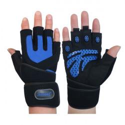 Fitnesstraining Handgelenk Verpackungs Handschuh Gewichtheben Sport Mesh Handschuhe