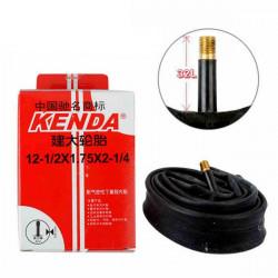 Kenda 12-1/2*1.75*2-1/4 A/V Kids Bicycle Inner Tube Foldable Bike Tire