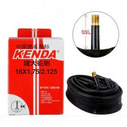 Kenda Fahrradschlauch 16 * 1.75 / 2,125 A / V MTB Straßen Fahrrad Reifen