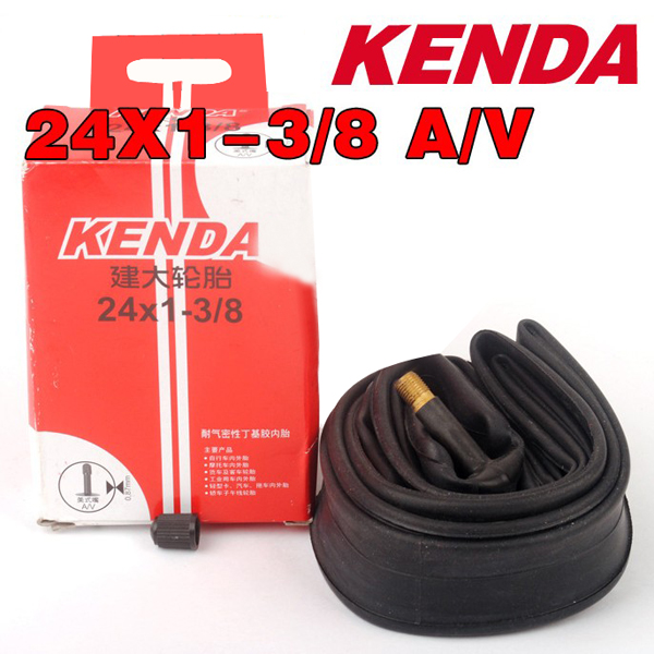 Kenda Bike Bicycle Inner Tube 24*1-3/8 AV 0.140 Inner Tire Cycling