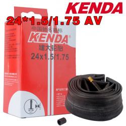 Kenda Bike Bicycle Inner Tube 24*1.5/1.75 AV 0.130 Inner Tire