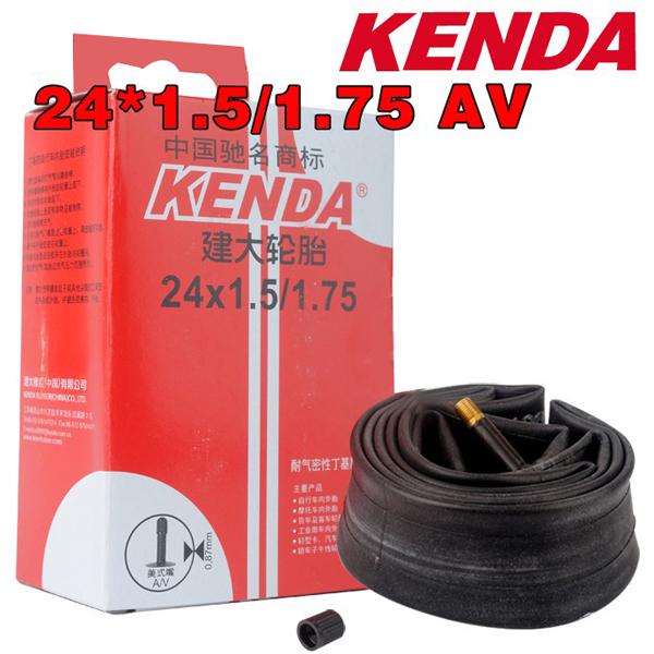 Kenda Bike Bicycle Inner Tube 24*1.5/1.75 AV 0.130 Inner Tire Cycling