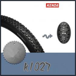 Kenda K1027 27,5 * 2,10 Mountainbike Road Bike Cykeldäck