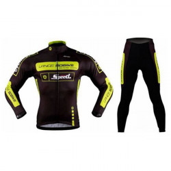Lance Sobike Ride Bicycle Clothing Cycling Clothing Fleece Jersey