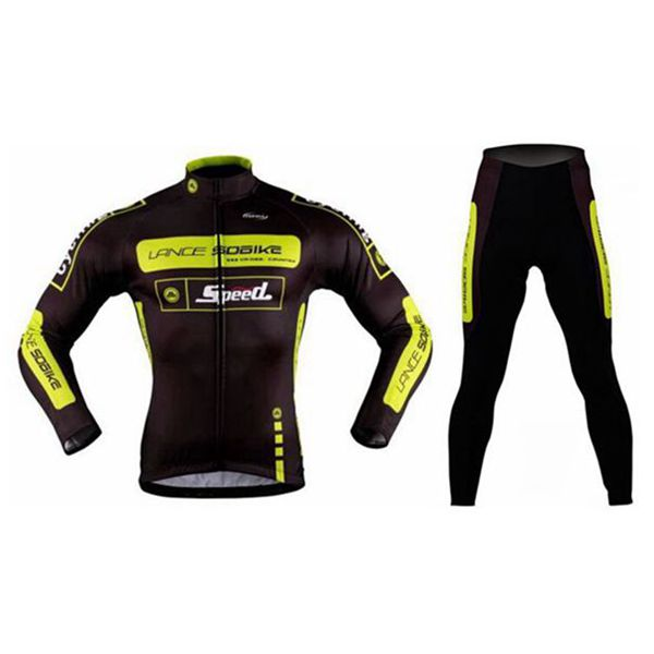 Lance Sobike Fahrfahrrad Bekleidung Fahrradbekleidung Fleece Jersey Fahrrad