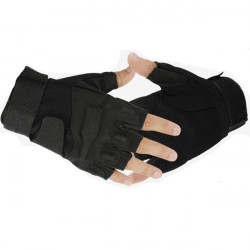 Military Solider Tactical Mountain Climbing Half Finger Gloves 1 Pair