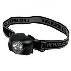 Mini 3W l Red LED 3 Modes LED Fishing Head Torch HeadLight Headlamp