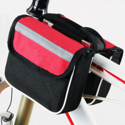 Mountain Bike Bicycle Sport Frame Front Tube Double Sides Saddle Bag