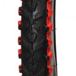 "Mountain Bike Däck MTB Däck 26 * 1,95"" Red Rim"