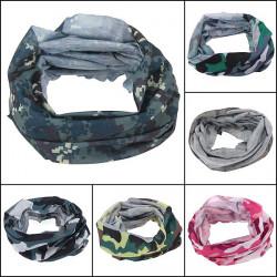 Multi Camouflage Tørklæde Cykling Bike Nakke Ansigtsmaske Hat Cap Hovedbeklædning