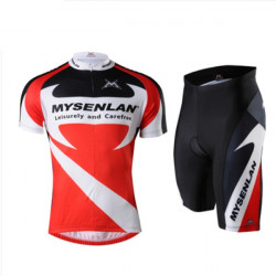 Mysenlan Mountain Bike Suit Bicycle Summer Sport Wear for Male