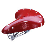 Old School Bicycle Saddle Vintage Bike Spring Seat Leatherette 28'' Cycling