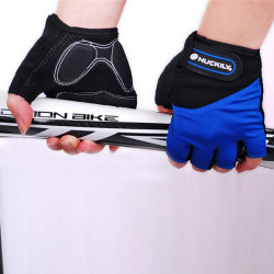 Outdoor Bike Bicycle Half Finger Cycling Gloves Mountain Riding Gloves